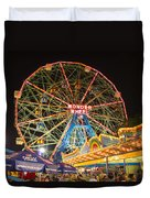 Coney Island Duvet Cover