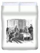 Continental Congress, 1774 Duvet Cover
