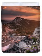 Continental Divide Duvet Cover
