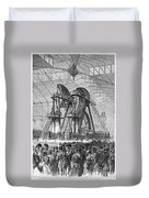 Corliss Steam Engine, 1876 Duvet Cover
