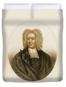 Cotton Mather, American Minister Duvet Cover