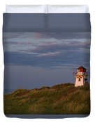 Covehead Lighthouse, Prince Edward Duvet Cover