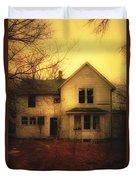 Creepy Abandoned House Duvet Cover