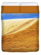 Crops, Oil Seed Rape Duvet Cover