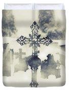 Cross Duvet Cover by Joana Kruse