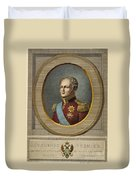 Czar Alexander I Of Russia Duvet Cover