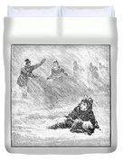 Dakota Blizzard, 1888 Duvet Cover