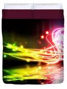 Dancing Lights Duvet Cover