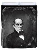 Daniel Webster Duvet Cover by Photo Researchers