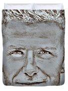 David Beckham In 2009 Duvet Cover