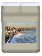 Dawlish Sea Wall Duvet Cover