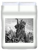 Death Of Eleazar Duvet Cover