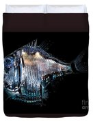 Deep-sea Hatchetfish Duvet Cover