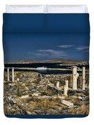 Delos Island Duvet Cover by David Smith