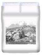 Desert Hikers Duvet Cover
