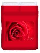 Detail Of Red Rose Duvet Cover