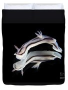 Detailed View Of A Beautiful Nudibranch Duvet Cover