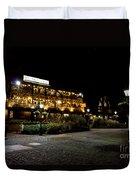 Dickens Inn Pub St Katherines Dock London Duvet Cover