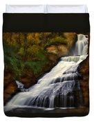 Dingmans Falls Duvet Cover