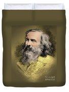 Dmitri Mendeleev, Russian Chemist Duvet Cover