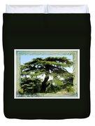 Do-00512 Cedar Forest Duvet Cover