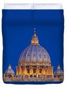 Dome San Pietro Duvet Cover by Brian Jannsen