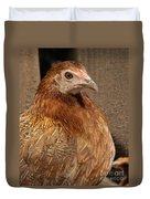 Domestic Chicken Duvet Cover