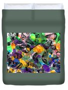 Dont Fall On The Road 3d Abstract I Duvet Cover