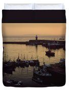 Dunmore East, Co Waterford, Ireland Duvet Cover