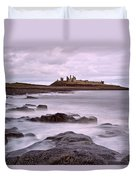 Dunstanburgh Castle Duvet Cover