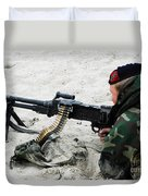 Dutch Royal Marines Taking Part Duvet Cover