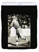 Eddie Plank (1875-1926) Duvet Cover