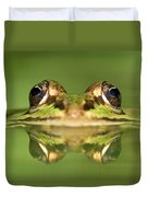 Edible Frog Rana Esculenta Duvet Cover