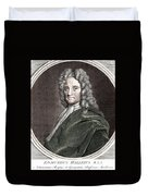 Edmond Halley, English Polymath Duvet Cover