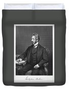 Edward Bulwer Lytton Duvet Cover