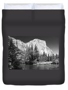 El Capitan And Merced River Duvet Cover