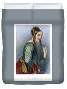 Eleanor Of Aquitaine Duvet Cover