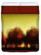 Eleven Shades Of Red Duvet Cover