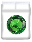 Emerald Isolated Duvet Cover