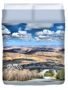 Endless Mountains Duvet Cover