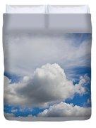 English Summer Sky Duvet Cover