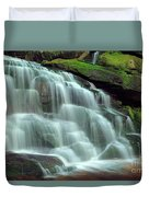 Evening At The Falls Duvet Cover