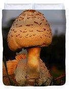 Evening Mushroom Duvet Cover