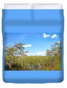 Everglades Landscape Duvet Cover