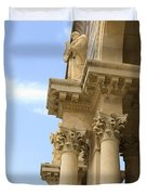 facade of Church of all Nations Jerusalem Duvet Cover