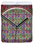 Faces Of Time 2 Duvet Cover by Mike McGlothlen