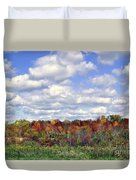 Fall In Wisconsin Duvet Cover