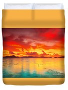 Fantasy Sunset Duvet Cover