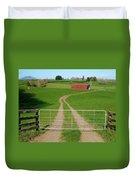 Farming Scene Duvet Cover