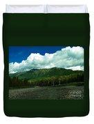 Fernie British Columbia  Duvet Cover